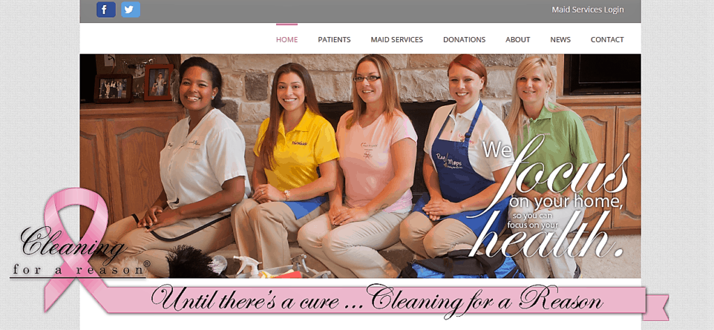 Complimentary Maid Service for women undergoing cancer treatment. Learn how to implement into your cleaning service.