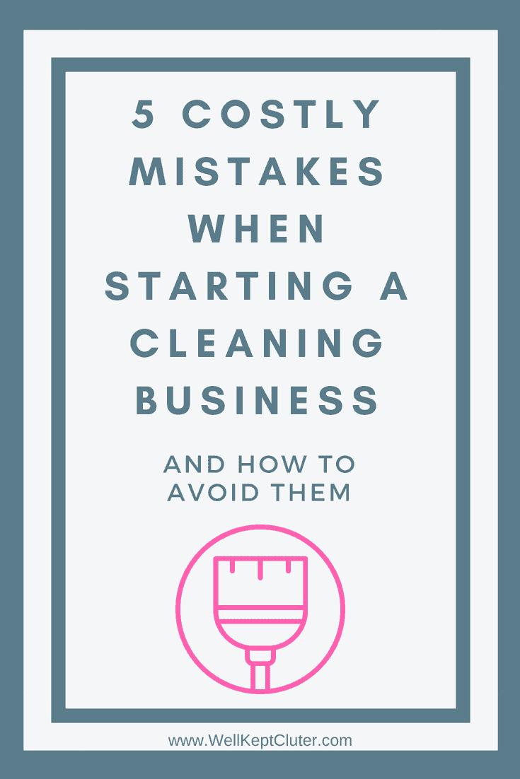 5 Mistakes New House Cleaning Companies Make