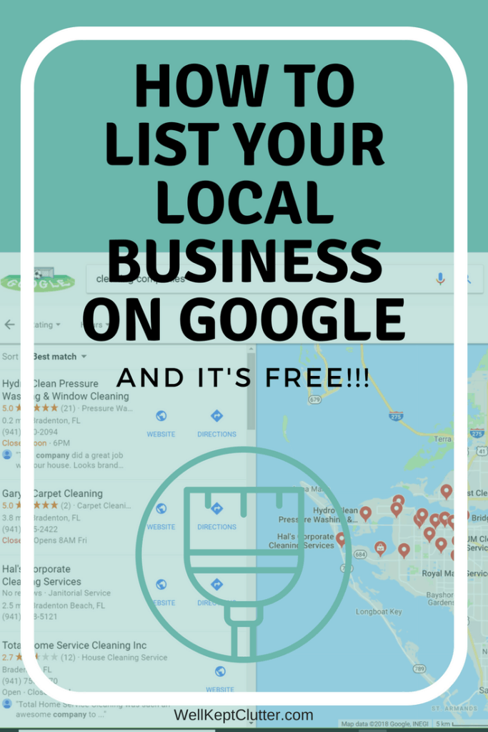 List your local business on Google