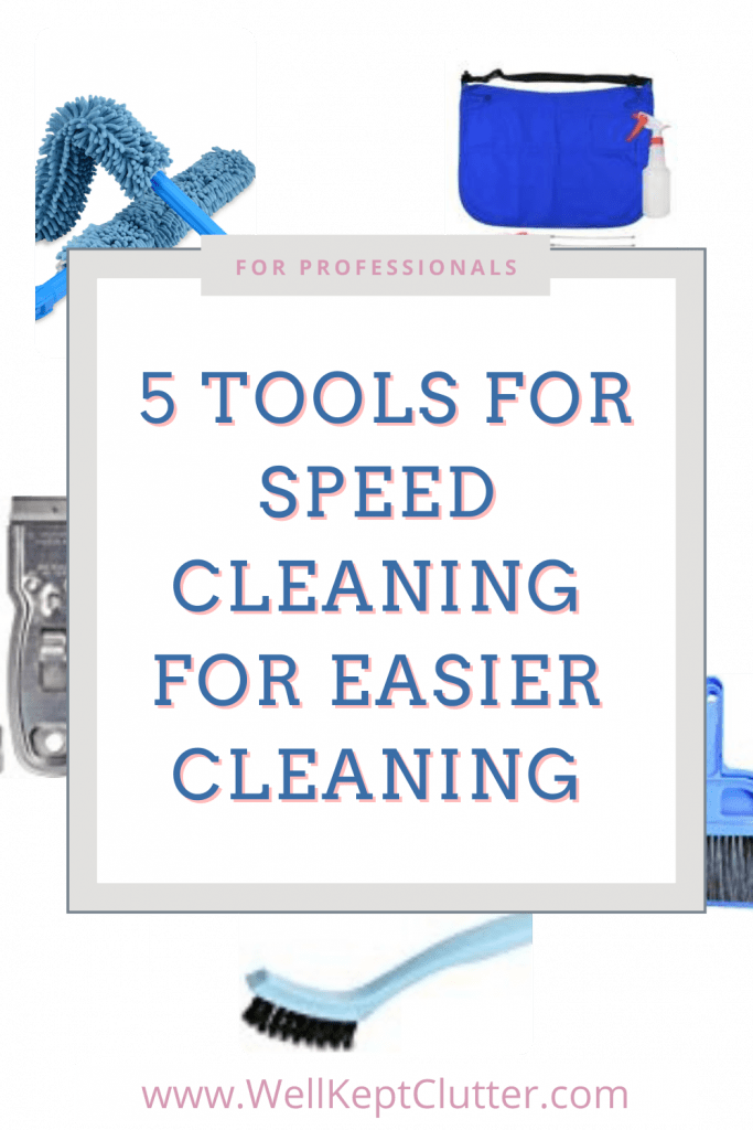 Speed Cleaning Tools for professionals