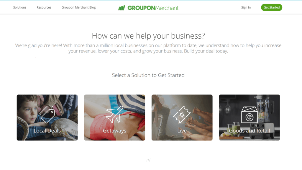 Signing up for a groupon campaign.  Step by Step guide to build your cleaning business with GROUPON.