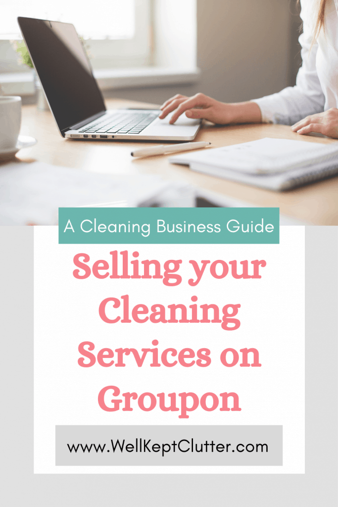 Selling cleaning services on Groupon