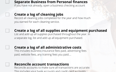 Cleaning Business Taxes