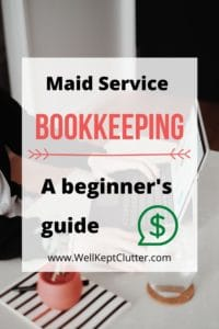 Bookkeeping for Maid Services
