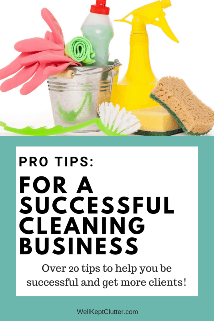 Pro tips on running a successful residential cleaning business