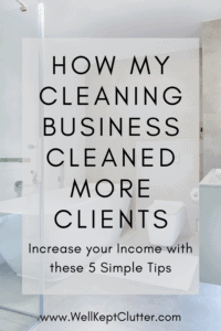 Increase you Cleaning Business income by cleaning more houses in a day.