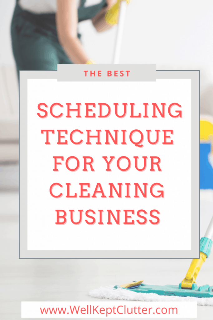 Maximize your maid service schedule with these 6 steps.