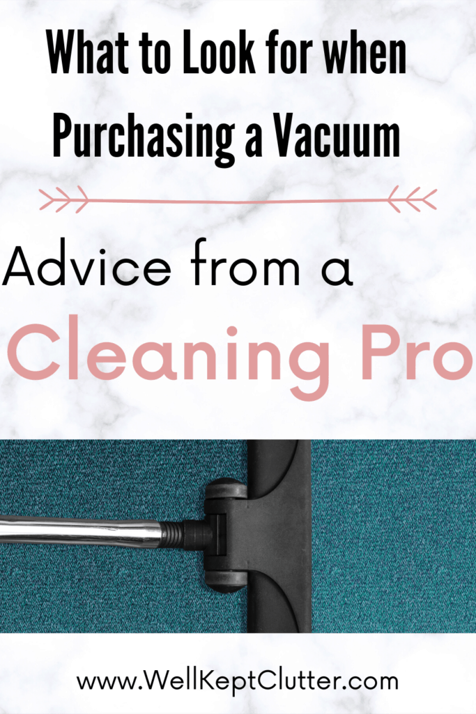 What to look for when purchasing a vacuum for your Cleaning Business.