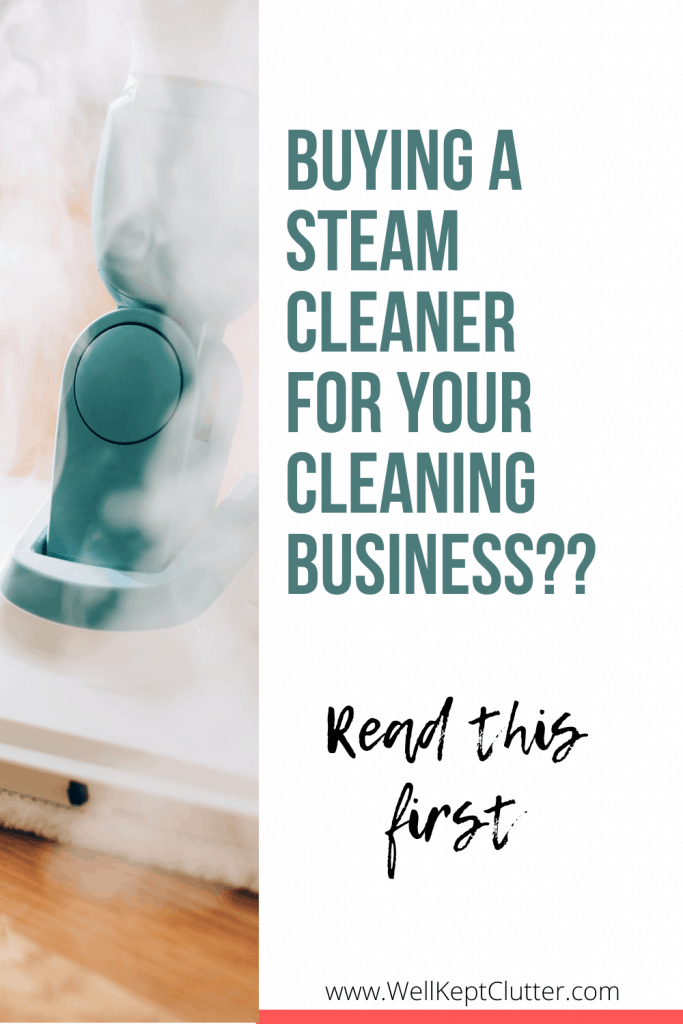 Best steam cleaner for house cleaning business