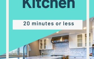 Deep Clean a Kitchen   20 Minutes or Less