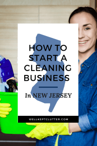 Start a Cleaning Business in New Jersey