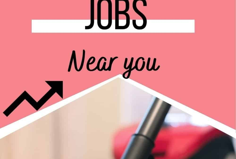 Where to find House Cleaning Jobs near you