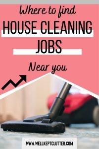 House keeper jobs